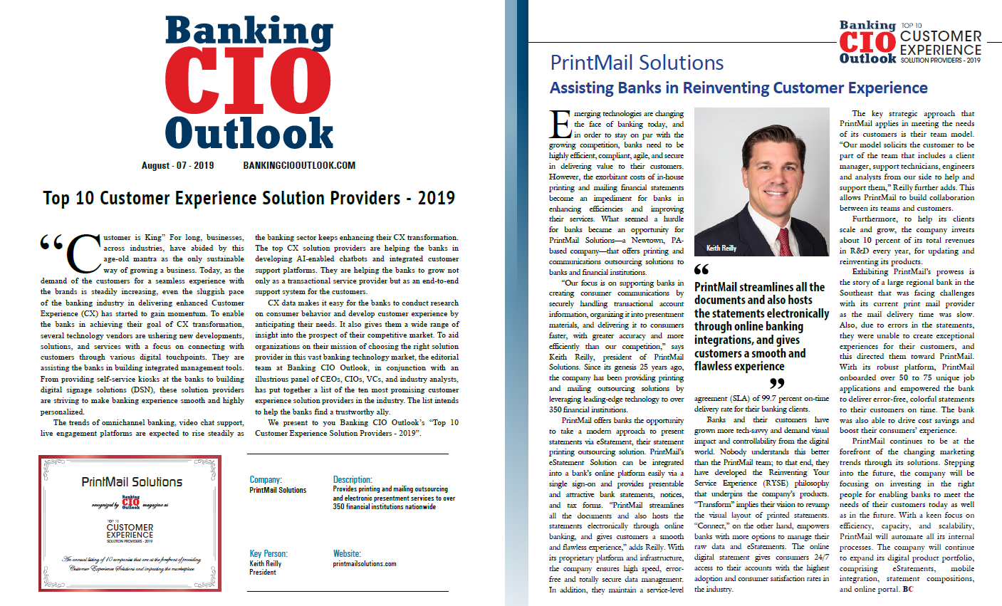 Banking CIO Article